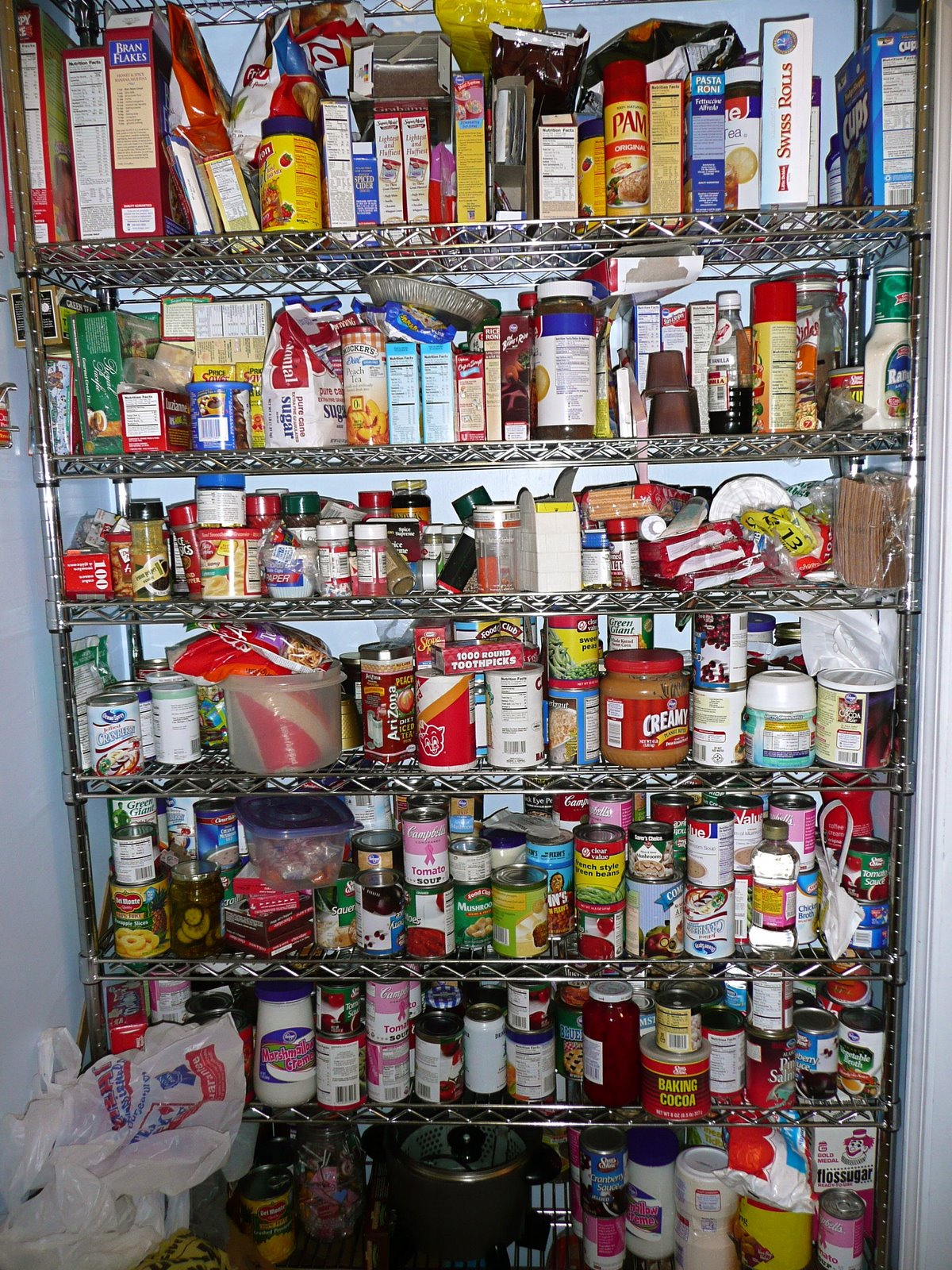 Image result for cluttered pantry
